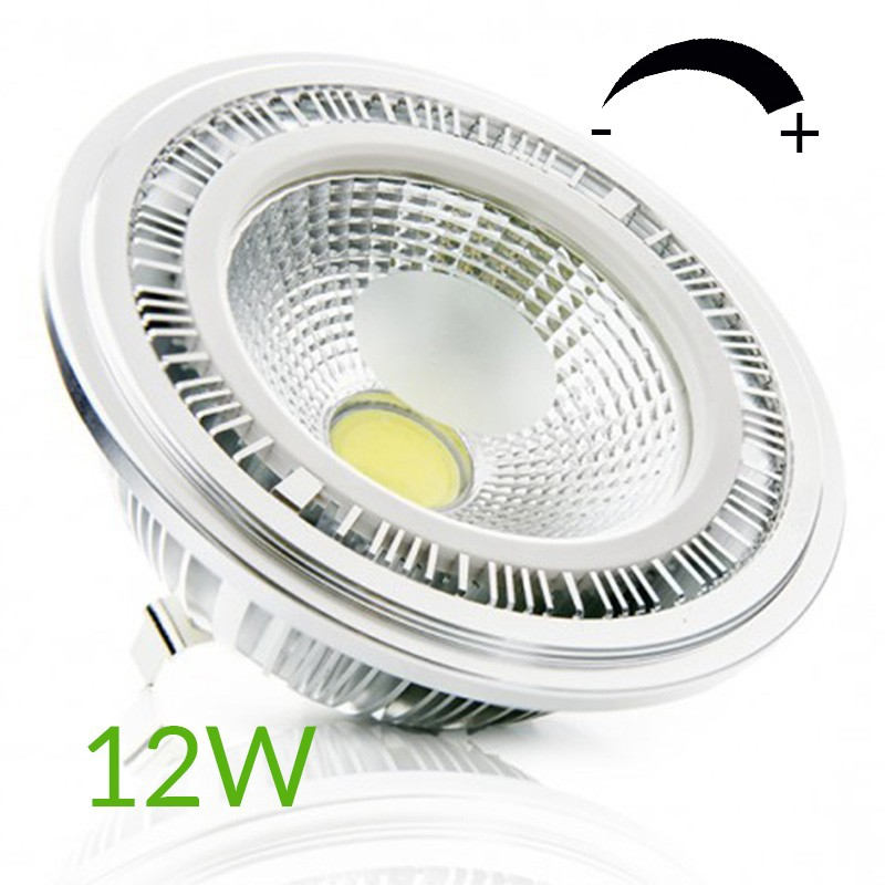 Bombilla led AR111 COB regulable 12W 1000Lm