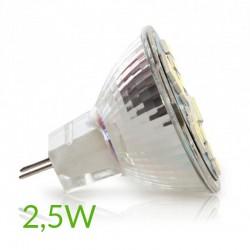 conector Bombilla led Mr11 2,5W 180Lm