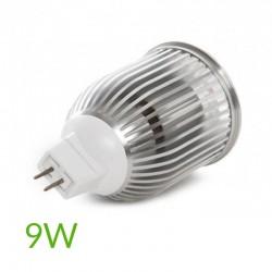 Conector Bombilla led Mr16 9W 810Lm