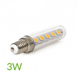 Led Bombilla led E-14 Tubular 3W 240Lm