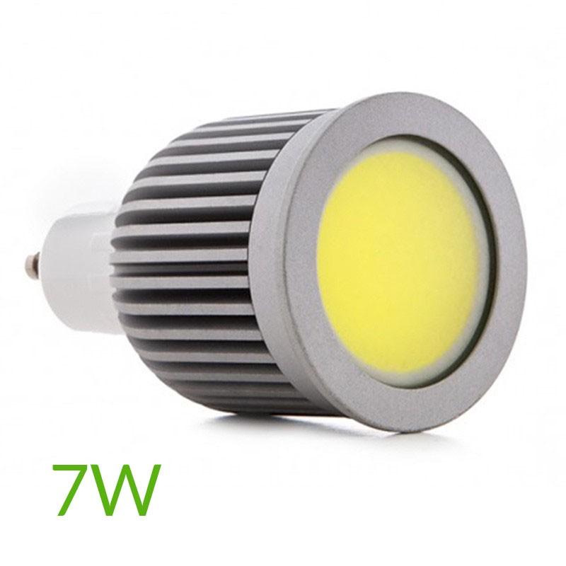 Bombilla led COB Gu10 7W 580Lm