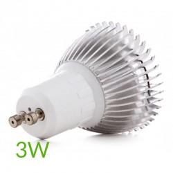 Conexión Bombilla led Gu10 3W 200Lm