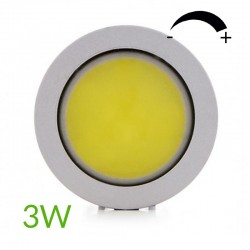 Cob Bombilla led Gu10 COB Regulable 3W 260Lm