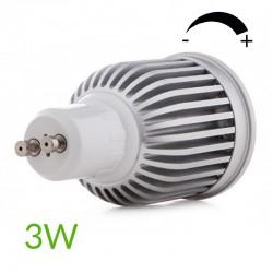 Conexión Bombilla led Gu10 COB Regulable 3W 260Lm