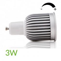 Comprar Bombilla led Gu10 COB Regulable 3W 260Lm