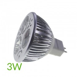 Bombilla led mr16 3w 60º blanco cálido