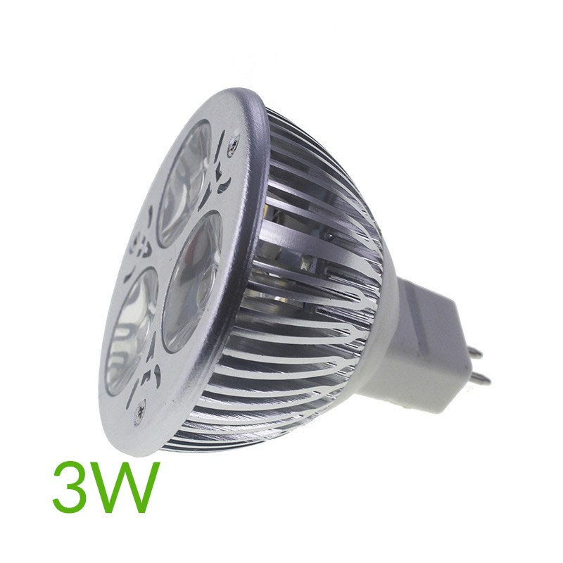 Bombilla led mr16 3w 60º blanco cálido