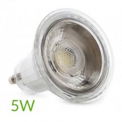 Bombilla led Gu10 COB 5W 350Lm
