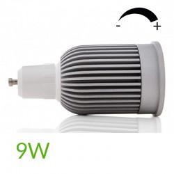 Comprar Bombilla led COB Gu10 Regulable 9W 880Lm