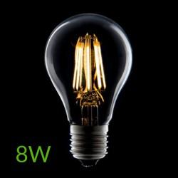 Iluminación Bombilla led E-27 Filamento 8W 760Lm