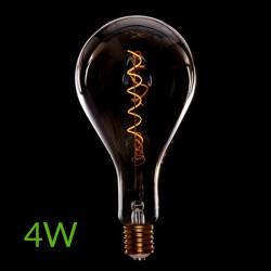 Luz Bombilla led E-27 Filamento Ps160 Regulable 4W 360Lm