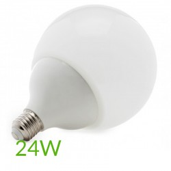 Casquillos Bombilla led E-27 G145 24W 2200Lm