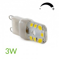 Bombilla led G9 3W Regulable 270Lm