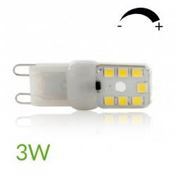 Comprar Bombilla led G9 3W Regulable 270Lm
