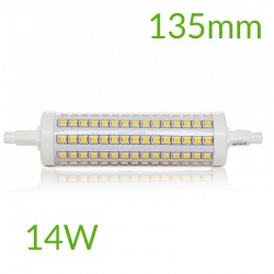 Casquillo Bombilla led R7S 135mm SMD2835 14W 1400Lm