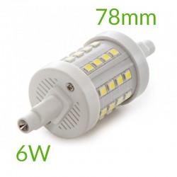 Comprar Bombilla led R7S 78mm SMD2835 6W 600Lm