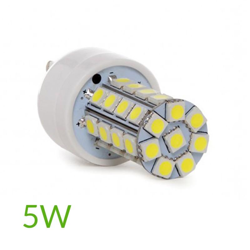Bombilla led G9 5W SMD5050 440Lm