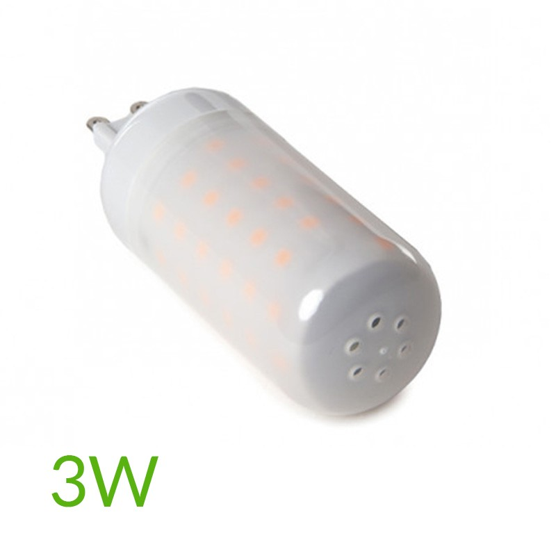 "Bombilla led G9 3W ""Llama"" 270Lm"