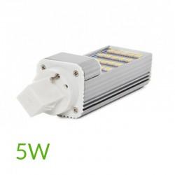 Comprar Bombilla led G24 5W SMD5050 420Lm