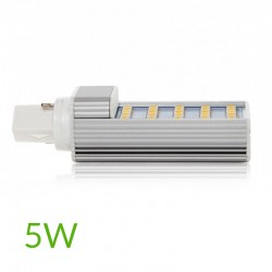 Casquillo Bombilla led G24 5W SMD5050 420Lm