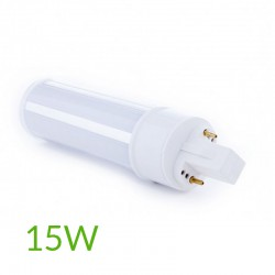 Comprar Bombilla led G24 15W SMD2835 1400Lm