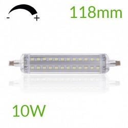 Comprar Bombilla led R7S 118mm Regulable 10W 1150Lm