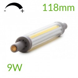 Vender Bombilla led R7S 118mm Regulable COB 9W 900Lm