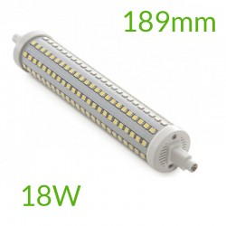 Bombilla led R7S 189mm SMD2835 18W 1800Lm