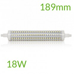 Casquillo Bombilla led R7S 189mm SMD2835 18W 1800Lm