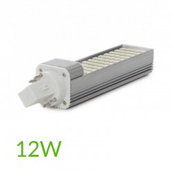 Casquillo Bombilla led G24 12W 4pins 1000Lm