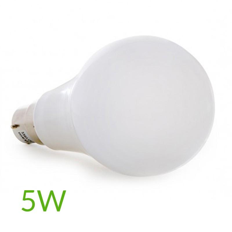 Bombilla led B22 5W 450Lm