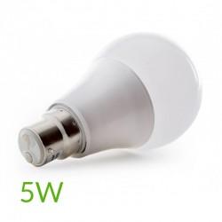 Comprar Bombilla led B22 5W 450Lm