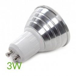Comprar Bombilla led RGB 3W Gu10