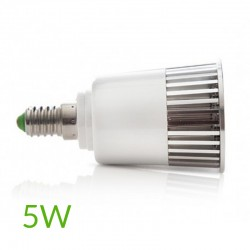 Luz Bombilla led RGB E14 5W