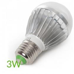 Comprar Bombilla led RGB E27 3W Esferica