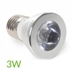 Oferta Bombilla led RGB E27 3W