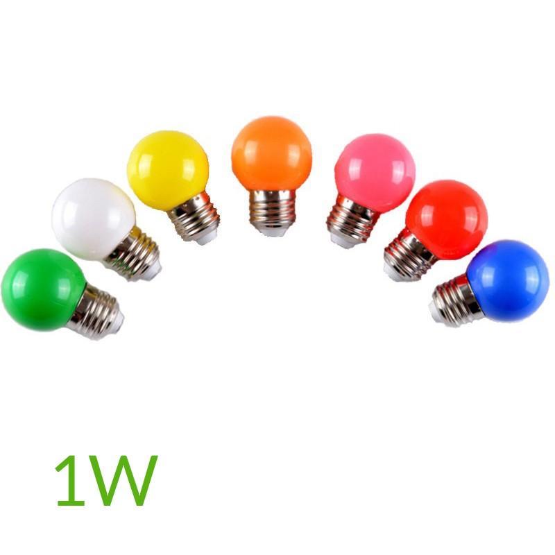 Bombillas de colores LED