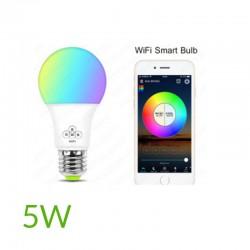 Bombilla led Wifi 5W RGB+Blanco Frío