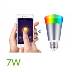 Bombilla led Wifi 7W RGB+Blanco Frío