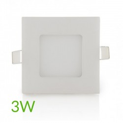 Oferta Downlight cuadrado 85mm 3W 230Lm