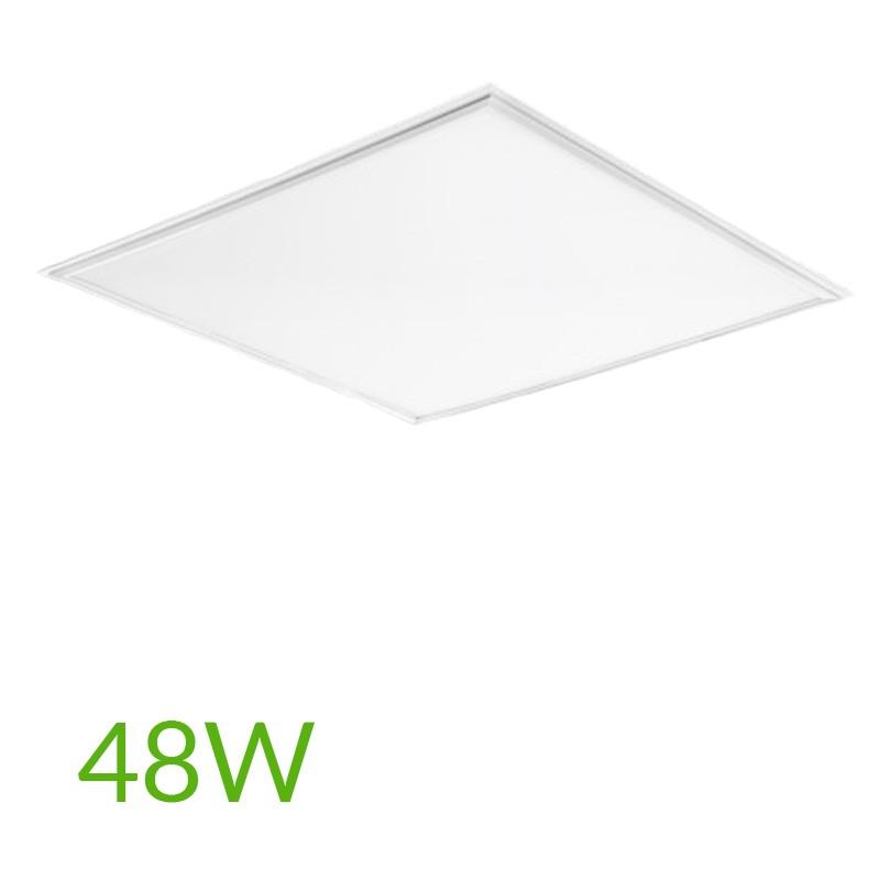 Panel cuadrado 600mm 48W 4800Lm