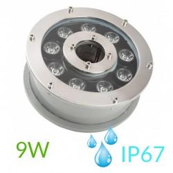 Foco para fuente de agua IP67 9W 990Lm