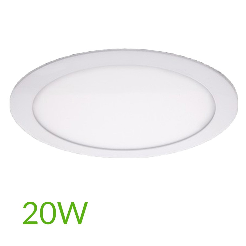 Downlight circular 225mm 20W 2000Lm