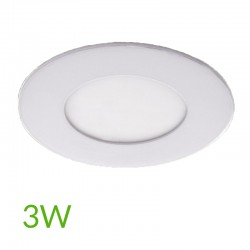 Downlight circular 90mm 3W 230Lm