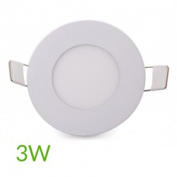 Comprar Downlight circular 90mm 3W 230Lm