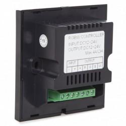 conexión Controlador empotrable táctil rgb + blanco 12-24v