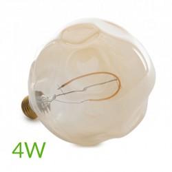 Comprar Bombilla led e-27 filamento g125 regulable 4w 360lm