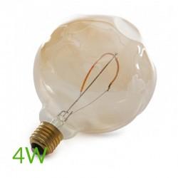 Bonita Bombilla led e-27 filamento g125 regulable 4w 360lm