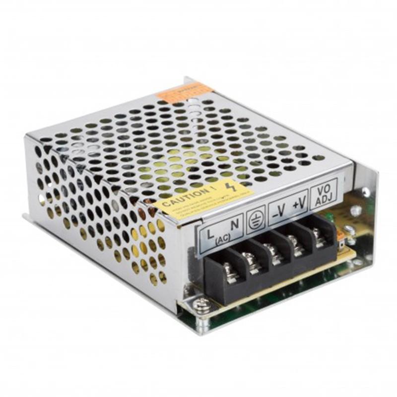 Transformador metálico 12v 60W 5A IP25