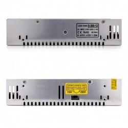 Oferta Transformador metálico 12v 300W 25A IP25